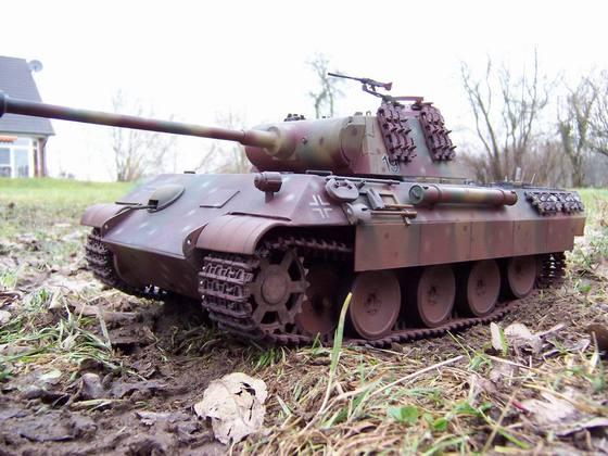 umgebauter HL Pantiger aus der Zeit, als es das jetzige Panthermodell noch nicht gab
