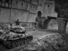 T-34 bei Treffen in Sigmaringen