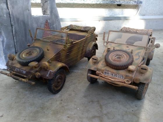2 Tamiya RC Kübelwagen