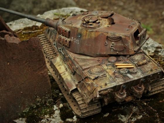 Königstiger 3.schw.Pz.Abt. 511 - Einsatz 1945 Raum Kassel