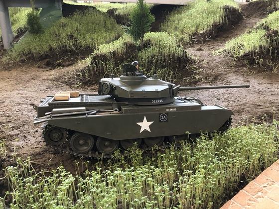 Britischer Kampfpanzer Centurion Mk. III im Koreaeinsatz 1953