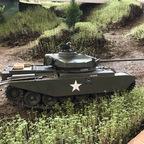 Britischer Kampfpanzer Centurion Mk. II im Koreaeinsatz 1953