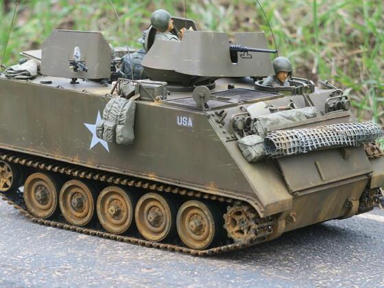M113 ACAV im Wächtersbacher Djungel....