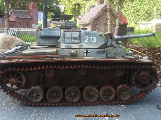 Panzer III made by malzburg