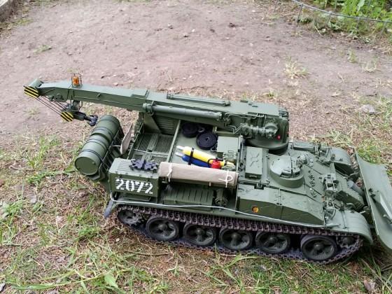 Kranpanzer T-55TK