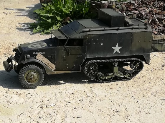 Canadian Command Half Track