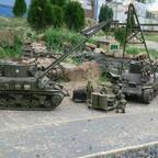 Zwei M32 bei der Arbeit......