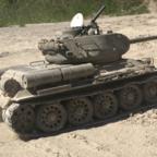 T-34/85 im Sand
